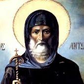 Από τον βίο του Αγίου Αντωνίου