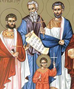 Άγιοι Ναζάριος, Προτάσιος, Γερβάσιος και Κέλσιος