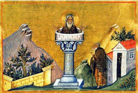 Αγιος Δανιήλ ο Στυλίτης