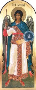 Η Σύναξις του Αρχαγγέλου Γαβριήλ• των Αγίων εικοσιέξ Μαρτύρων των εν Γοτθία, Στεφάνου Ηγουμένου Τριγλίας κ.ά.
