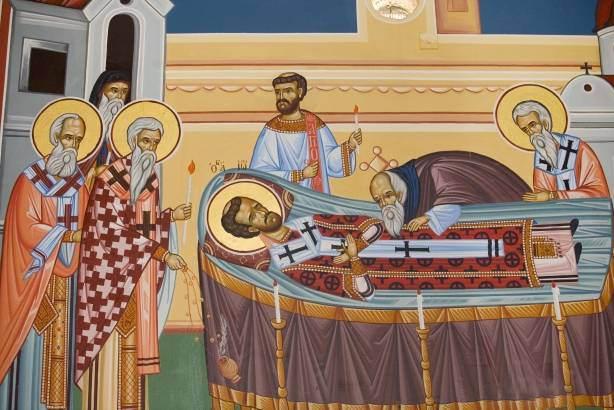 Ανακομιδή λειψάνου Αγίου Ιωάννου Χρυσοστόμου