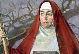 Η αγία Μπριγκίτε του Κιλντέαρ