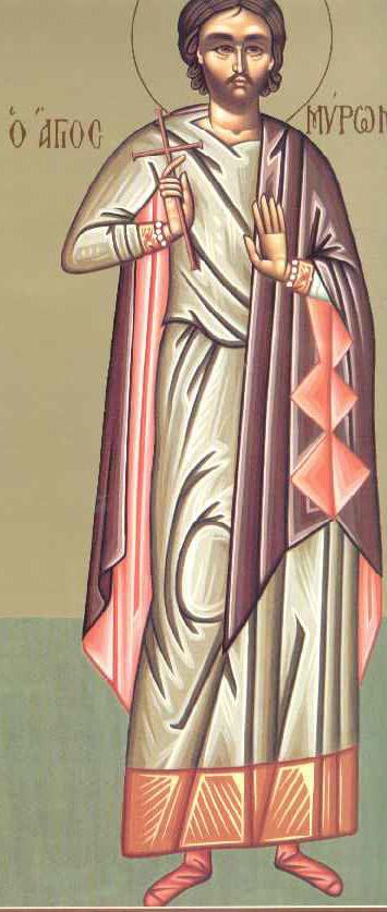 Άγιος Μύρων ο Κρης