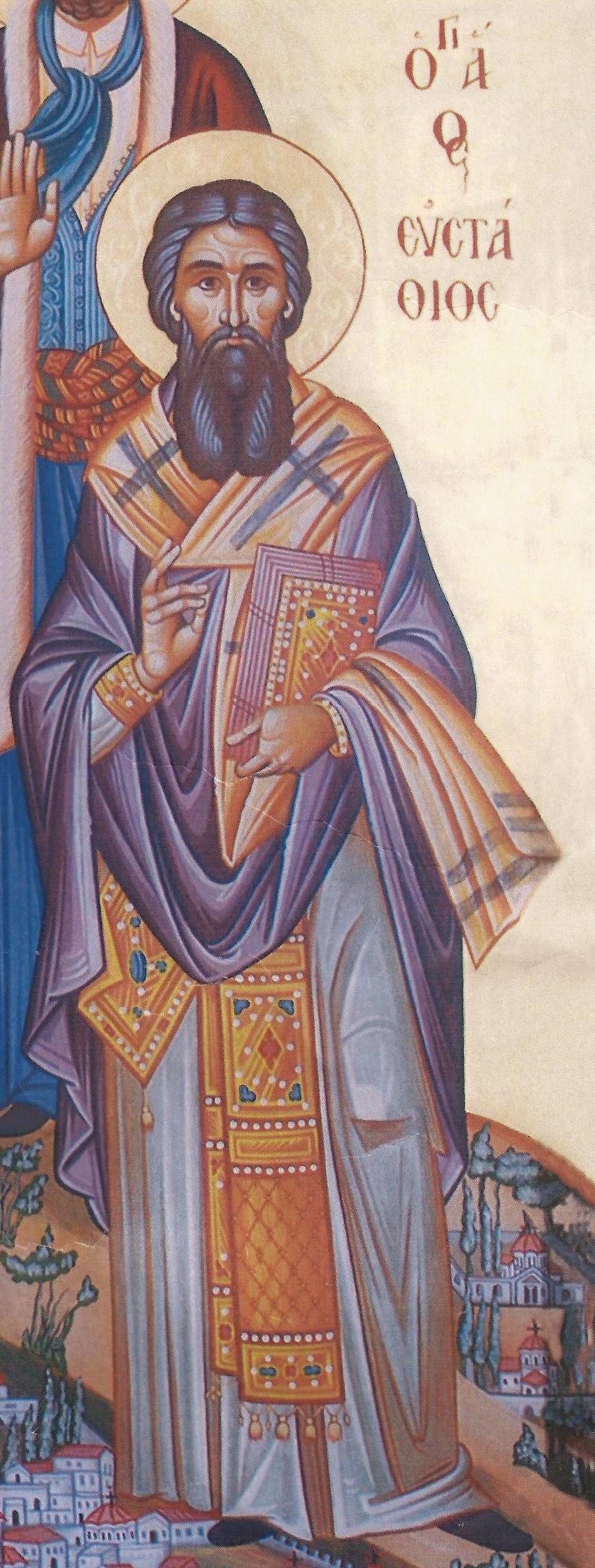 Όσιος Ευστάθιος επίσκοπος Κίου