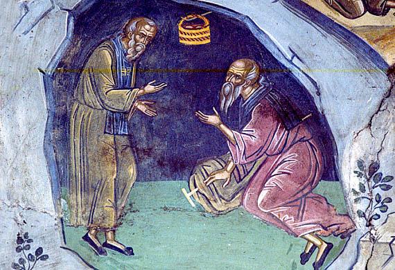 Ευλόγιος ο πρεσβύτερος, Αββάς Ζήνων, Αββάς Θεόδωρος της Φέρμης..