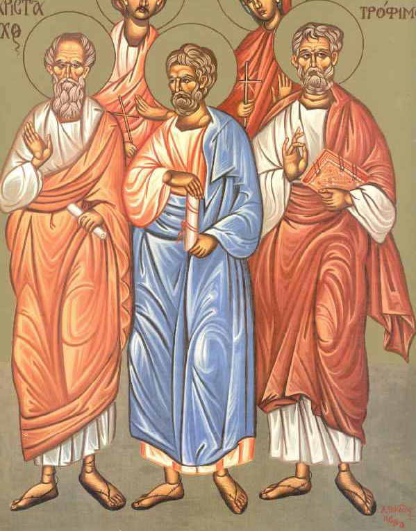 Άγιοι Αρίσταρχος, Πούδης και Τρόφιμος