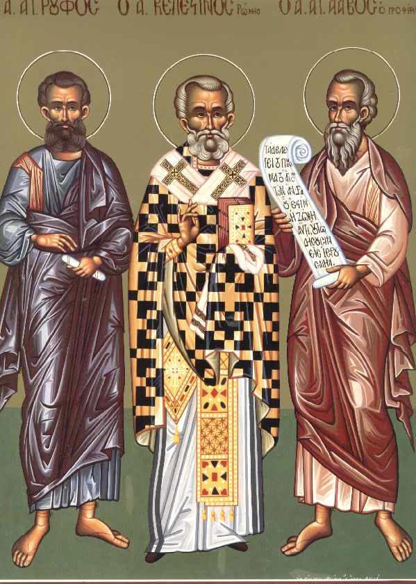 Άγιοι Ρούφος, Κελεστίνος, Άγαβος