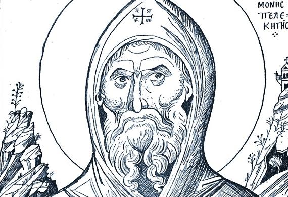 'Οσιος Μακάριος ηγούμενος της ιεράς μονής Πελεκητής