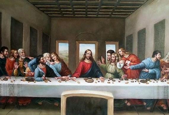 Ο Χριστός κι ο Ιούδας...