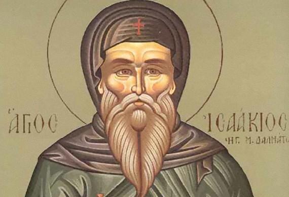 'Αγιος Ισαάκιος ηγούμ. της μονής των Δαλμάτων