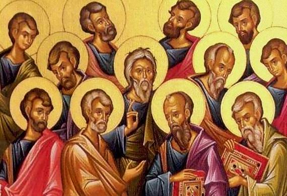 Εγκώμιο στους αγίους Αποστόλους