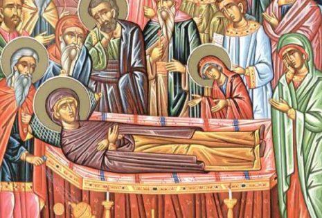 Κοίμηση Αγίας Αννης