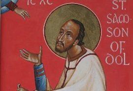 Ο άγιος Σαμψών, επίσκοπος Ντολ