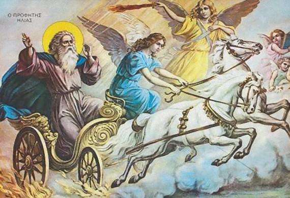 Ο άγιος προφήτης Ηλίας