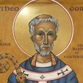 Ο άγιος Θεόδωρος αρχιεπίσκοπος Καντερβουρίας