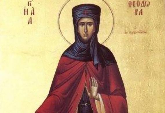 Οσία Θεοδώρα η εν Αλεξανδρεία