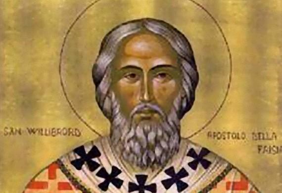 Άγιος Ουίλλιμπρορντ της Ουτρέχτης, ο απόστολος της Ολλανδίας