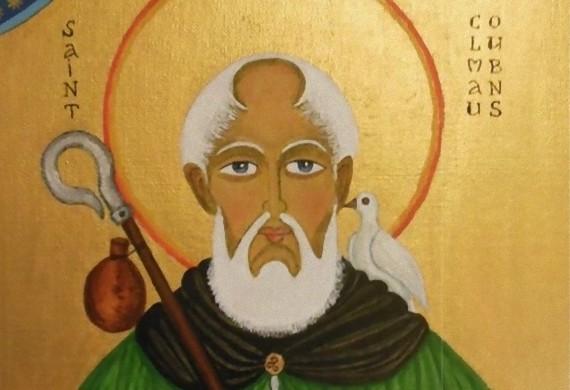 Ο άγιος Κολομβανός, ηγούμενος του Λουξέιγ