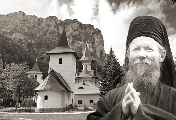 Ο ιερομόναχος π. Δομέτιος, πνευματικός της μονής Ριμέτς