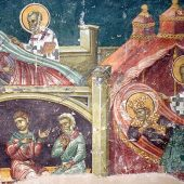 Ο άγιος Νικόλαος και οι τρεις στρατηλάτες
