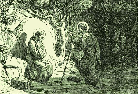 Οι όσιοι Ρωμανός και Λουπικίνος