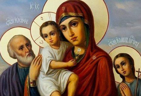 Η Χάρη και η παρρησία της Παναγίας μας