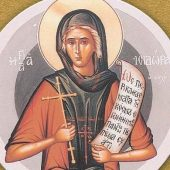 Η αγία Ισιδώρα