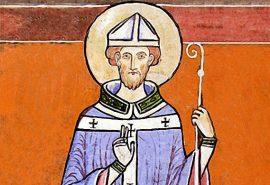 Ο άγιος Ντάνσταν αρχιεπίσκοπος Καντερβουρίας