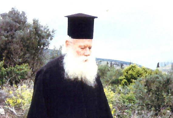 Ο Γέρων Χρυσόστομος Σταυρονικητιανός