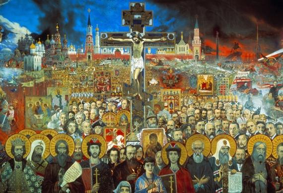 Ο άγιος ιερομάρτυς Αλέξανδρος Χοτοβίτσκυ