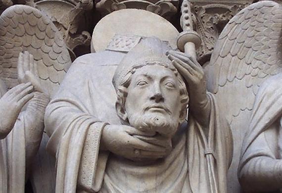 Ο άγιος Διονύσιος, πρώτος επίσκοπος Παρισίων