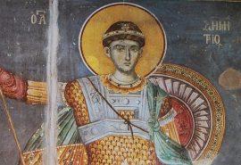 Ο μεγαλομάρτυρας άγιος Δημήτριος