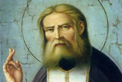 Μεγαλειώδης επίσκεψη της Θεοτόκου στον όσιο Σεραφείμ