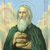 Ο όσιος Πρόχορος του Κιέβου και το θαύμα των ψωμιών