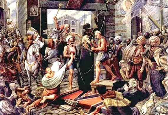 Ο άγιος Γρηγόριος ο Ε', πατριάρχης Κωνσταντινουπόλεως