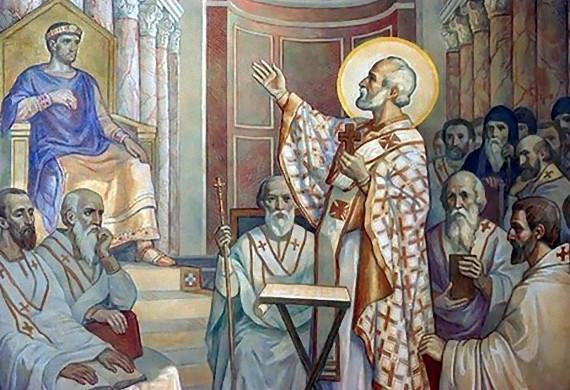 Κυριακή των 318 θεοφόρων πατέρων της πρώτης Οικουμενικής Συνόδου