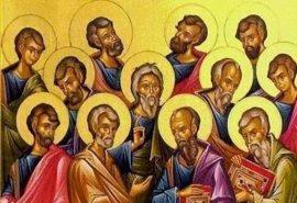 Ευχή στην εορτή των δώδεκα Αποστόλων
