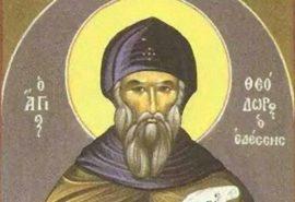 Oσίου Θεοδώρου Εδέσσης - Ψυχωφελή αποφθέγματα