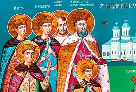 Ο άγιος ηγεμόνας-μάρτυρας Κωνσταντίνος Μπρανκοβεάνου και οι συν αυτώ