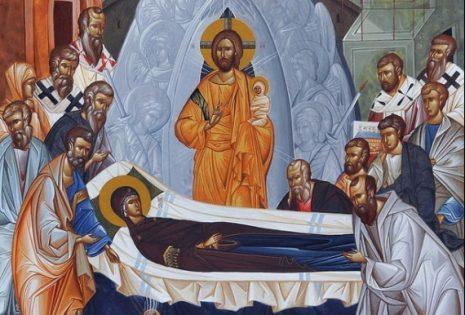 Λόγος στην κοίμηση της Υπεραγίας Θεοτόκου