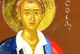 Ο άγιος νεομάρτυρας Νικόλαος ο Χιοπολίτης