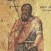 Ο άγιος μεγαλομάρτυρας Θεόδωρος ο Γαβράς