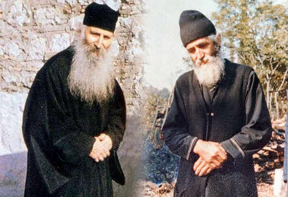 Πνευματική επικοινωνία του αγίου Ιακώβου με τον άγιο Παΐσιο