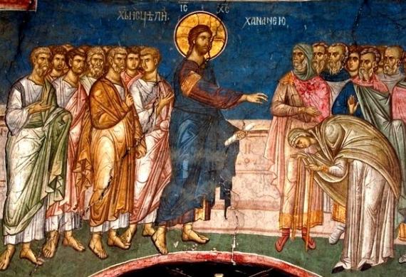 Η μεγάλη πίστη της Χαναναίας - Κυριακή ΙΖ' Ματθαίου