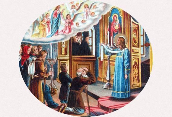 Ο όσιος Σεραφείμ ως διάκονος