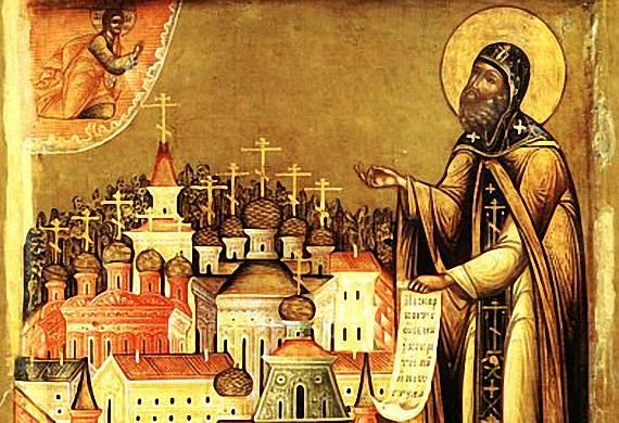 Ο όσιος Παφνούτιος του Μπορόφσκ