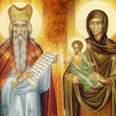 O Τίμιος Πρόδρομος και οι αγίοι γονείς του Ζαχαρίας και Ελισάβετ