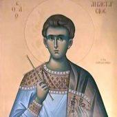 Ο άγιος νεομάρτυς Αναστάσιος ο Ηπειρώτης και Δανιήλ ο εξ Ισμαηλιτών
