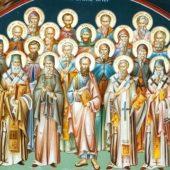 Οι άγιοι θέλουν ν' απολαύσουμε ό,τι και εκείνοι