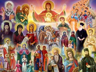 Αποτέλεσμα εικόνας για Οι άγιοι θέλουν ν' απολαύσουμε ό,τι και εκείνοι